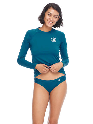 Body Glove Sleek Rash Guard Prussian