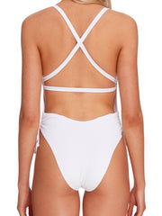 Body Glove Ibiza Missy One Piece White, view 4, click to see full size