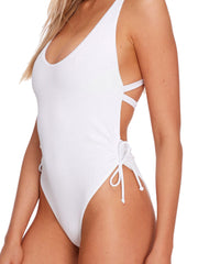 Body Glove Ibiza Missy One Piece White, view 3, click to see full size