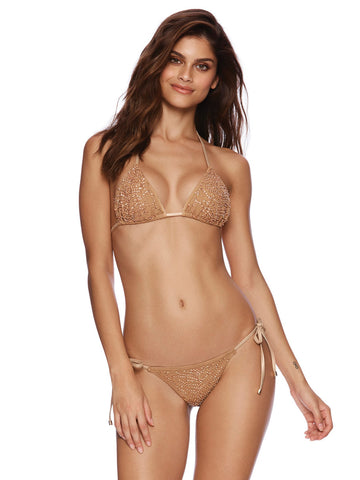 Beach Bunny Nala Triangle Top Rose Gold