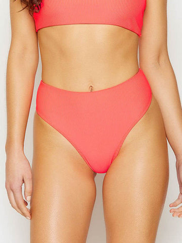 Frankies Bikinis Jenna High Waist Bottom Rave Heart