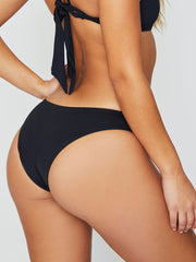 Frankies Bikinis Harley Bottom Cheeky Black
