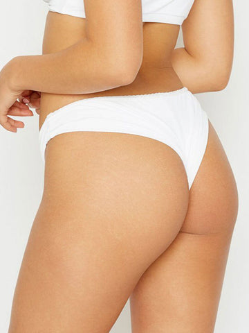 Frankies Bikinis Sweets Bottom White