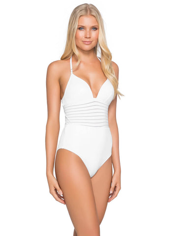 Jets Plunge One Piece White