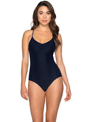 Jets Disposition Tank One Piece Navy