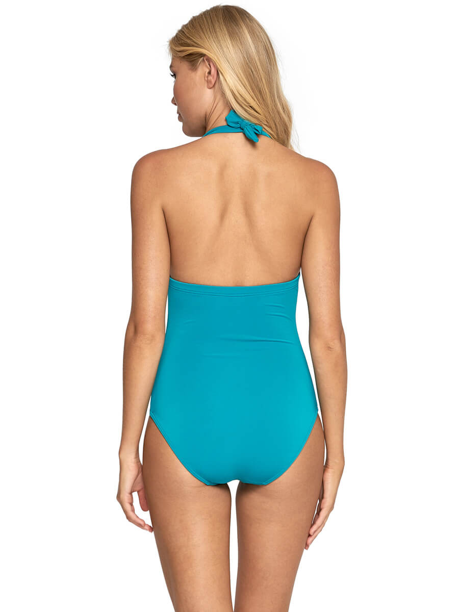 Jets One Piece Halter Carribean