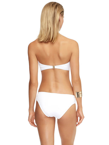 JETS Jetset Tab Front Bandeau White