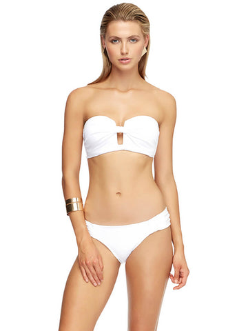 JETS Moulded Cup Bandeau White