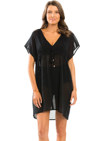 JETS Empire Kaftan Black