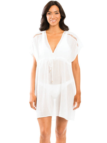 Jets Empire Kaftan White