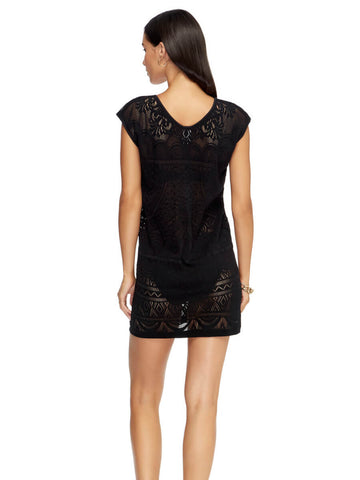 JETS Shift Dress Black