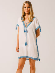 Koy Resort Tulum- Tunic Dress French Blue