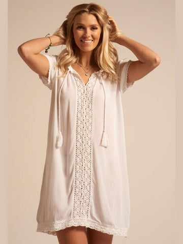 Koy Resort Miami Tunic White
