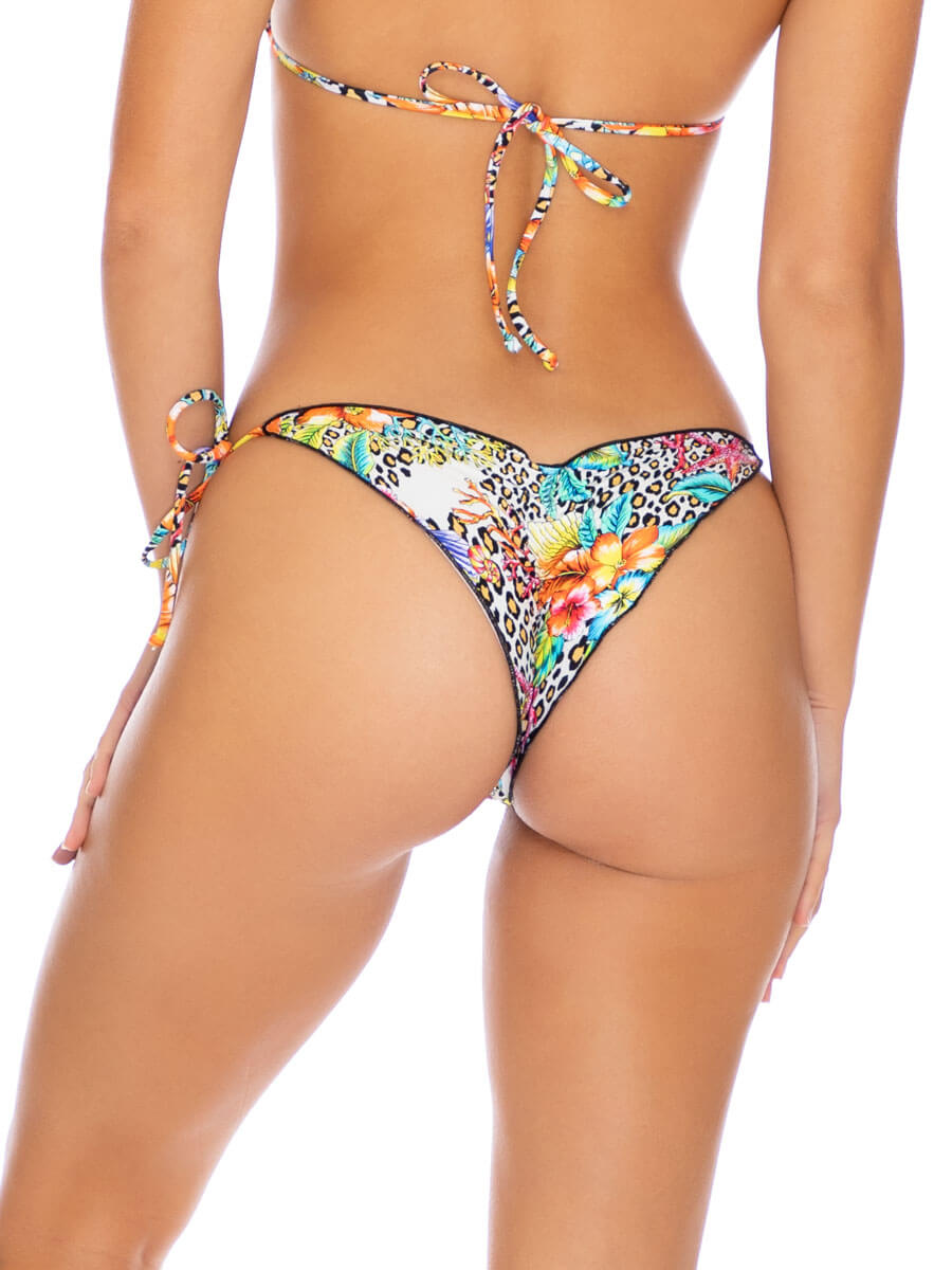 Luli Fama Seamless Brazilian Tie Side Multicolor