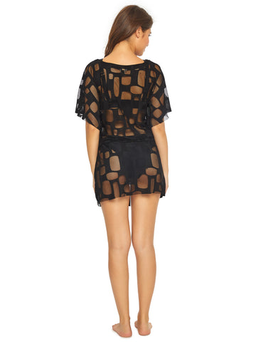 PQ Swim Daniella Cover Up Black