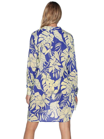 Maaji Serene Breeze Shirt Blue Print
