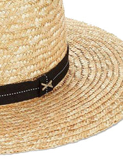 Vitamin A Provence Hat Natural/Black, view 2, click to see full size