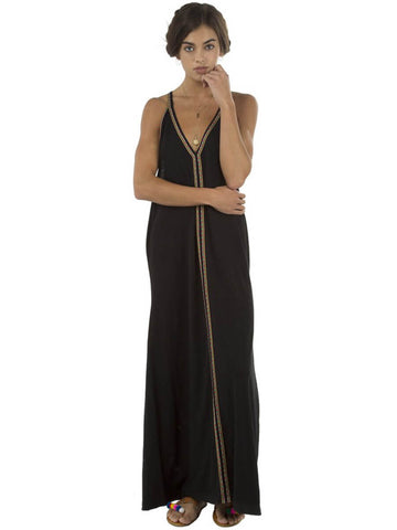 Pitusa Pima Sundress Black