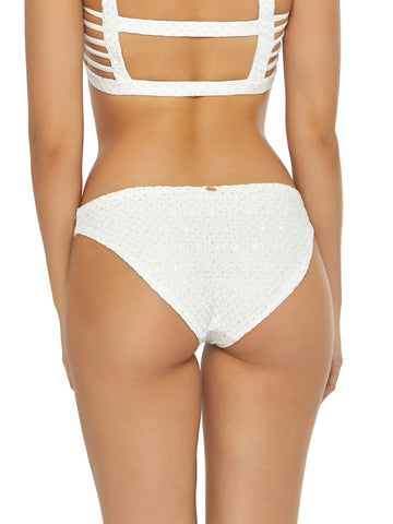 PQ Swim Eyelet Basic Full Bottom White