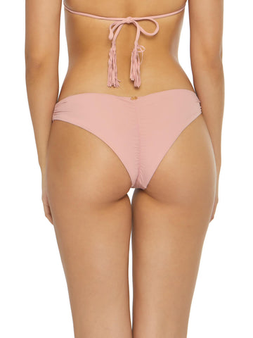 PilyQ Basic Ruched Teeny Bottom Riviera