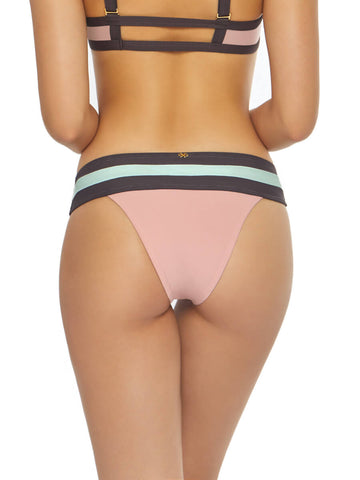 PilyQ Banded Color Block Teeny Bottom Riviera