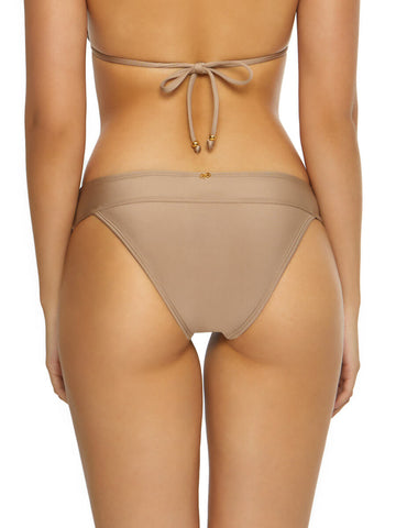 PilyQ Lace Banded Bottom Full Sandstone