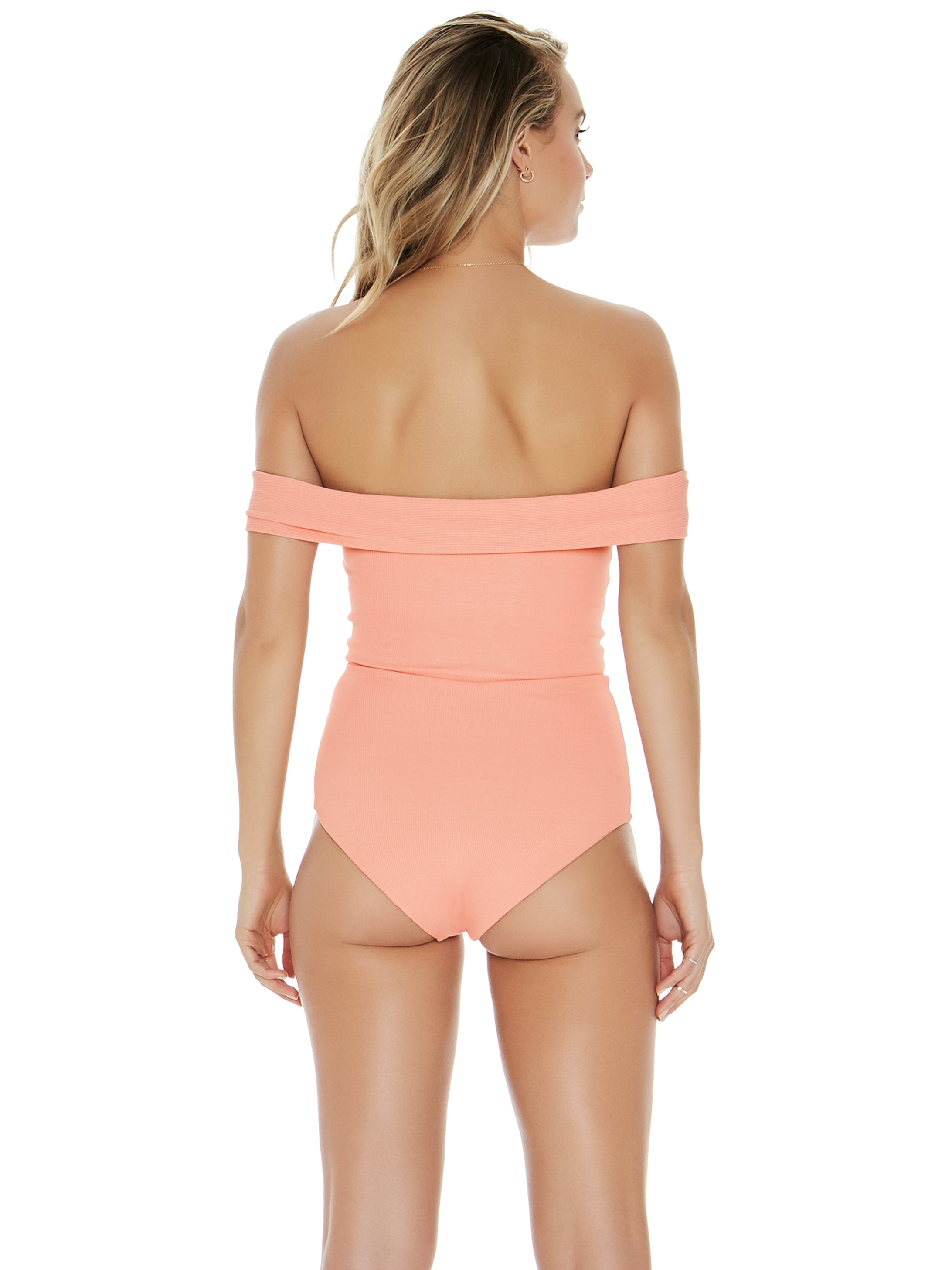 L*Space Ridin' High Anja One Piece Tropical Peach