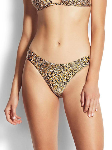 Seafolly Spirit Animal Hipster Bottom Saffron