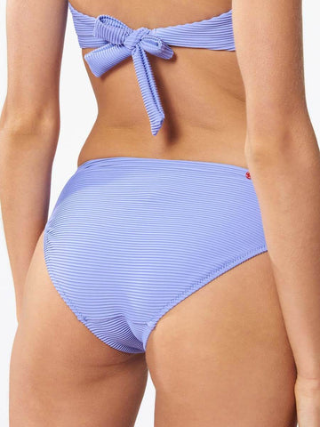 Red Carter Rib Elle Bottom Lilac