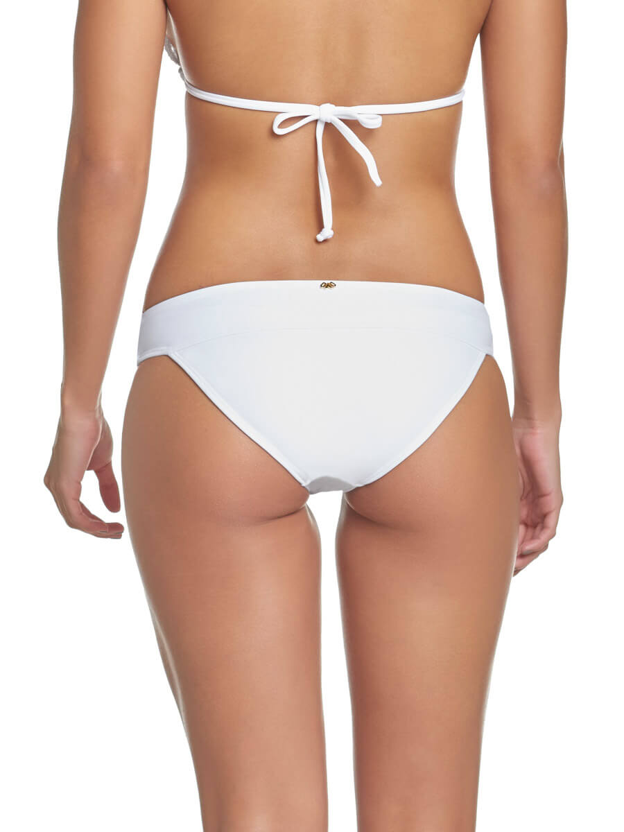 PQ Swim Water Lily Lace Full Bottom White