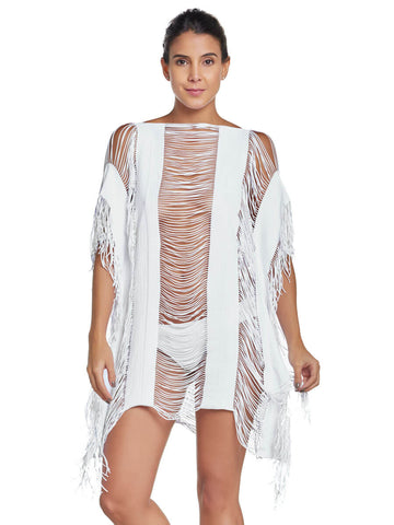 PilyQ Water Lily Monique Cover Up White