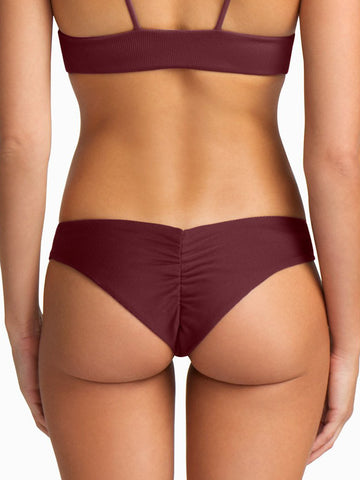 Boys + Arrows Clairee Bottom Burgundy
