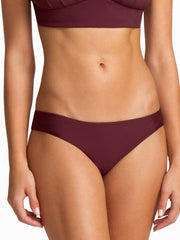 Boys + Arrows Clairee Bottom Burgundy, view 1, click to see full size