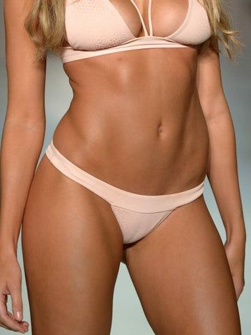 Beach Bunny Blush Snake London Skimpy Pant Blush