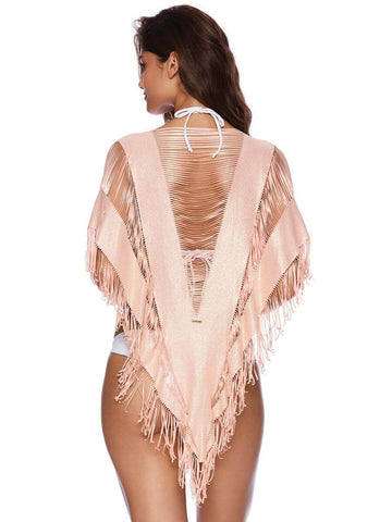 Beach Bunny Indian Summer Poncho Rose Gold
