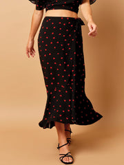Beach Bunny Gentry Skirt Hearts, view 1, click to see full size