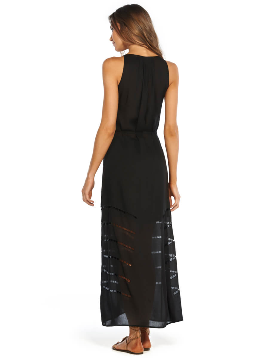 ViX Black Grazi Long Dress Black
