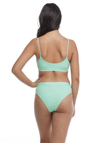Body Glove Ibiza Aro Top In Seafoam