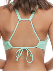 Body Glove Ibiza Drew Top In Seafoam, view 4, click to see full size