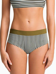 Boys + Arrows Raz High Waist Bottom Cadet