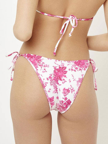Frankies Bikinis Leigh Bottom Rosie Print