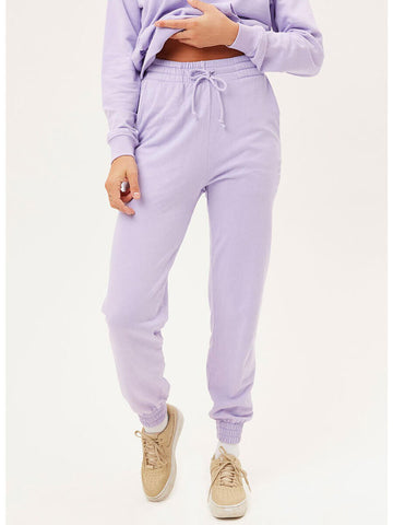 Frankies Bikinis Frank Sweatpants In Lilac