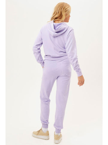 Frankies Bikinis Aiden Sweatshirt In Lilac