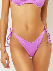 Frankies Bikinis Connor Bottom In Passionfruit, view 1, click to see full size