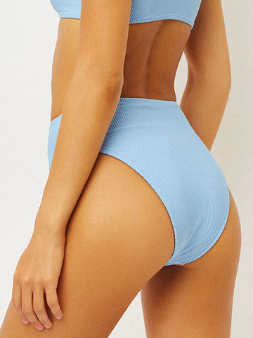 Frankies Bikinis Jenna Bottom in Chambray