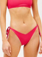 Frankies Bikinis Connor Bottom in Rosewood, view 1, click to see full size