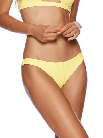Beach Bunny Dani Skimpy Bottom Lemon
