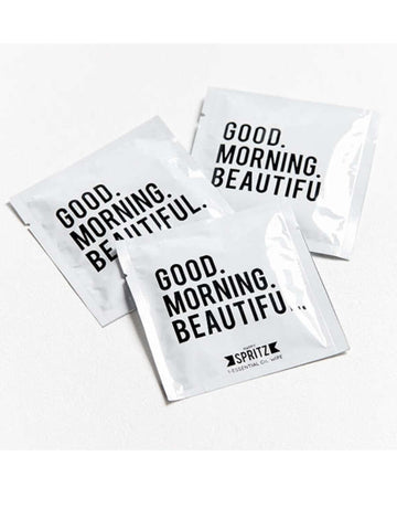 Happy Spritz Good Morning Beautiful Towelette 7 Day