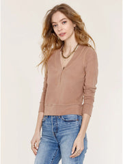 Heartloom Mari Top In Latte, view 1, click to see full size