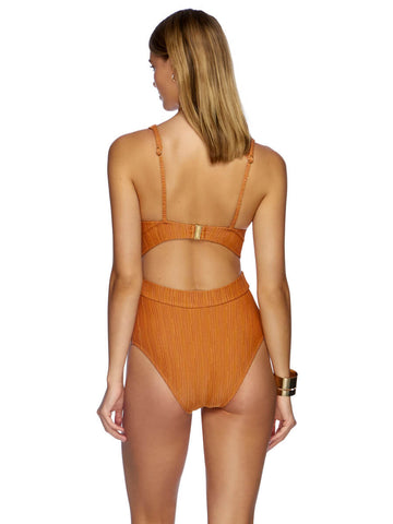 JETS Radiance Plunge One Piece Orange